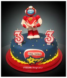 Space Ranger Roger cake