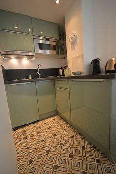 12 Meilleures Images Du Tableau Vert Amande Green Kitchen Mint