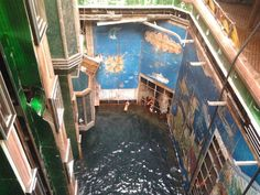 The Costa Concordia is afloat again for the first time in more than two years. Take an eerie look inside the wrecked ship.
