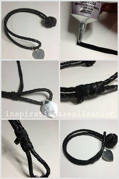 DIY Bottega Veneta Woven Leather Bracelet