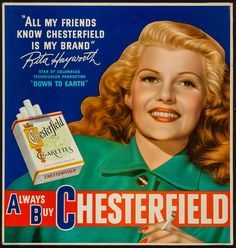 Chesterfield (Rita Hayworth)