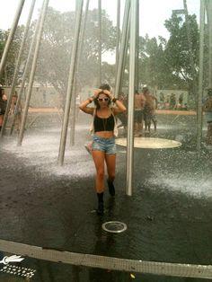 i wanna run thru sprinklers in the summer