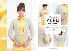 Yarn afterparty 01 linnen & kant vest