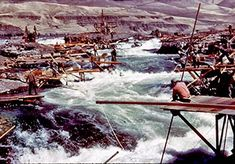 Celilo Falls Fishing Rights Yakama-Umatilla-Warm Springs-Nez Perce