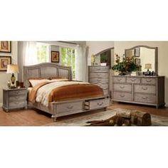 1599 00 Gavin Bedroom Storage 6 Piece King Bed Set Home