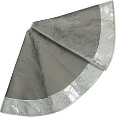 "SORRENTO EXTRA Large 50"" Christmas Tree Skirt Velvet Body with Glitter Sparkle Luxury Sequin Border Silver Sorrento http://www.amazon.com/dp/B013Q6BZR6/ref=cm_sw_r_pi_dp_w1XBwb0QX05PA"