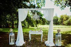 Obřad pod širým nebem - Jedinečná svatba - Blog