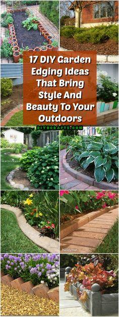 17 DIY Nápady na ozdobenie záhrady, ktoré prinášajú štýl a krásu do vašej vonku