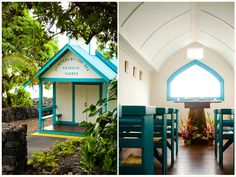 """Little Blue Church in Hawaii -truthfully this would have been my """"wedding idea"""""""