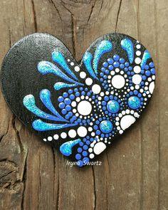 "80 Likes, 6 Comments - Art On The Rocks (@art_on_the_rocks) on Instagram: ""New creation #art_on_the_rocks #artistsoninstagram #denverrockshop #heartmagnet #woodmagnet #wood…"""