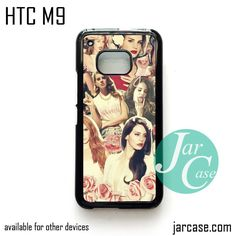 lana del rey collage YD Phone Case for HTC One M9 case and other HTC Devices