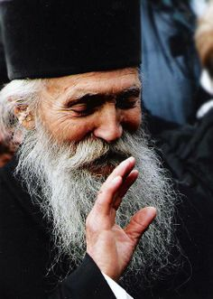"""""""The main thing in spiritual life is to keep your heart at peace."""" Elder Thaddeus"""
