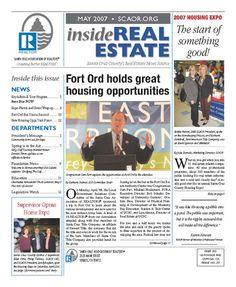 May 2007 SCAOR Newsletter Cover Design http://dixongraphics.com/portfolio_newsl.htm