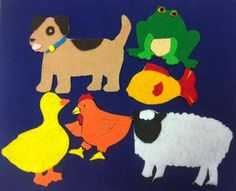 When Animals Get Up in the Morning. link: ** FELT CARS http://www.madiganreads.com/2011/04/cars-feltboard.html