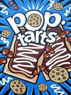 Pop Art Pop Tarts by Burton Morris