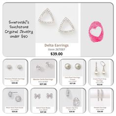 Sparkle with any budget with Touchstone Crystal by Swarovski