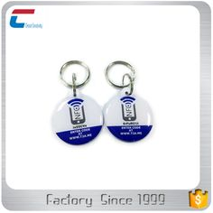 Custom shape waterproof and encryptable nfc pet id collar tag