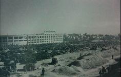 EStadio de Chamartín en 1947