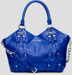 f118290f248 Michael Kors - Leigh. This is exactly the kind of blue purse I have been