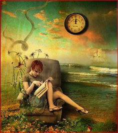 I LOSE TRACK OF TIME IN A GOOD BOOK!