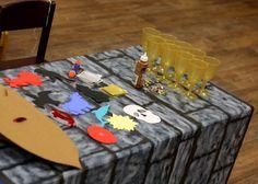 Knight Crafts | Shield & Goblet decorating