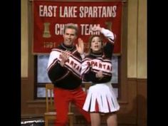 Spartan Cheerleaders snl 310 Will Ferrell