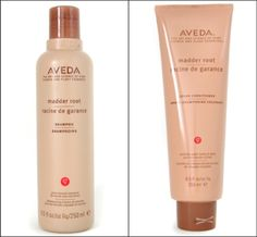 Aveda Madder Root shampoo and conditioner..MY FAVORITE FOR RED HAIR!!! ITS AMAZING!!