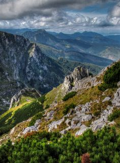 From Giewont - On the way to Giewont, Poland.
