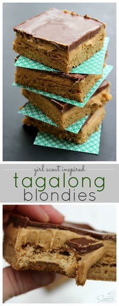 Tagalong Blondies