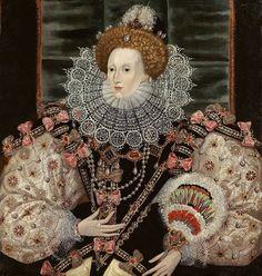 George Gower, Portrait of Queen Elizabeth, 1600
