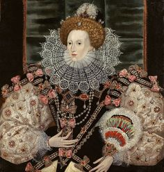 QUEEN ELIZABETH I (DAUGHTER OF KING HENRY THE VIII & QUEEN ANNE BOLEYN) 1600