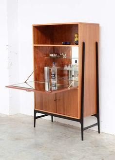 Alfred Hendrickx; Bar Cabinet for Belform, 1958.