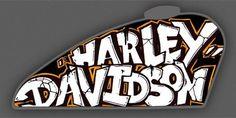Harley-Davidson; customização; Forty-eight; tanque; Graffiti; Tank (Foto: Divulgação)