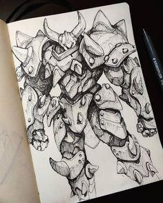 Game Character Design, Fantasy Character Design, Character Design References, Character Drawing, Character Design Inspiration, Monster Concept Art, Alien Concept Art, Arte Gundam, Architecture Drawing Sketchbooks