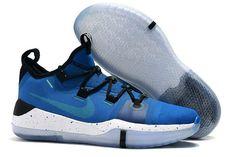 sale retailer bab21 e0d9d Nike Kobe A.D. EP Blue Black White Men s Shoes Sale-4