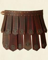 Resultado de imagen de leather war kilt