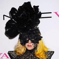 Piers Atkinson mask for Lady Gaga