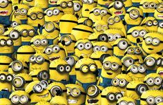 """If you're thinking to yourself """"what is a minion?"""" then you probably don't have kids and will be thankful for all the minions facts on this list. Image Minions, Minion Movie, Minions Cartoon, Minions Images, Minion 2015, Minion S, Funny Minion, Minion Banana, Minions Despicable Me"""