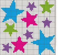 estrela ponto cruz - Pesquisa Google