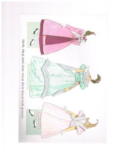 Amazon.com: Little Women Paper Dolls: Everything Else