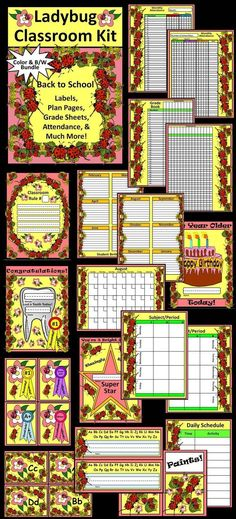 Attendance Sheet For Students Delectable Owl Professor Teacher Binder Lesson Planner & Classroom Kit .