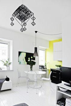 Yellow kitchen 2