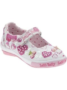 Precious Feet Boutique  - Lelli Kelly Cuore White, $55.00 (http://www.preciousfeetboutique.com/products/lelli-kelly-cuore-white.html)