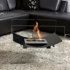 "Veniz Fireplace Black 26"", $699, now featured on Fab."