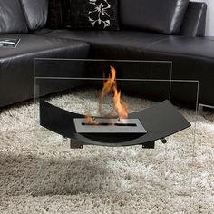 "Veniz Fireplace Black 26"", $699, now featured on Fab."