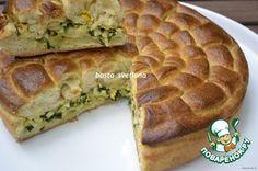 Оригинальный пирог с классической начинкой