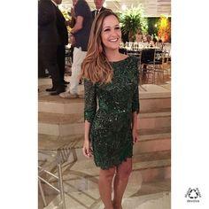 #vestido #vestidocurto #vestidobordado #bordado #festa #vestidodefesta
