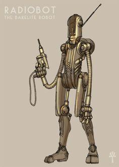 Bakerlite Robot ~Malaveldt