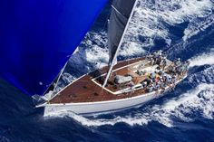 Perfect sailing conditions made for a thrilling second edition of the Rolex Swan Cup Caribbean.