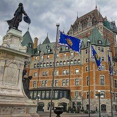 #Repost @travelchannel  Old Quebec City #DailyEscape #travel #Canada #quebeccity #traveladdict #travelgram #igersoftheday #WhereintheworldisJPKC